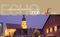 Titel SCHIERLING ECHO 2008